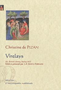 Christine de Pizan - Virelays - Manuscrit Harley 4431.