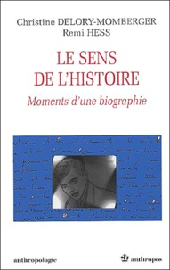 Christine Delory-Momberger et Remi Hess - .