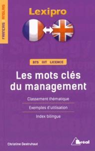 Christine Destruhaut - Les mots clés du management en anglais.