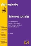 Christine Dollo et Jacques Gervasoni - Sciences sociales.