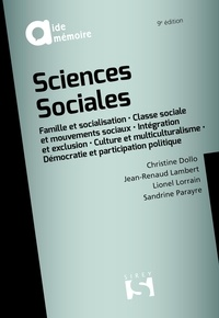 Christine Dollo et Jean-Renaud Lambert - Sciences sociales.