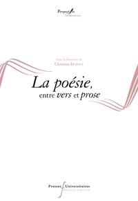Christine Dupouy - La poésie, entre vers et prose.
