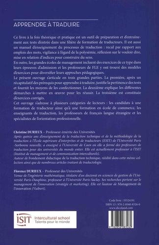 Apprendre à traduire. Prérequis et tests 2e édition revue et augmentée