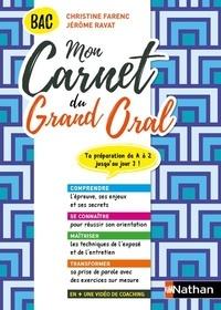 Christine Farenc et Jérôme Ravat - Mon carnet du Grand Oral Bac.