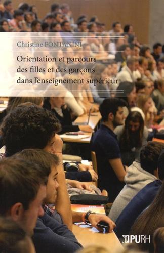 Christine Fontanini - Orientation et parcours des filles et des garçons dans l'enseignement supérieur.