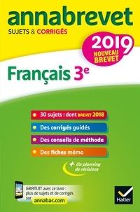 Christine Formond et Louise Taquechel - Français 3e - Sujets et corrigés.