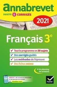 Christine Formond et Louise Taquechel - Français 3e - Sujets, corrigés et conseils de méthode.