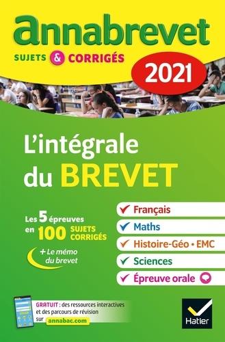 L'Intégrale 3e. Sujets et corrigés  Edition 2021
