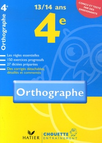Orthographe 4e - Christine Formond | Showmesound.org