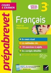 Christine Formond et Louise Taquechel - Prépabrevet Français 3e Brevet 2022 - cours, méthodes et entraînement (brevet 2022).
