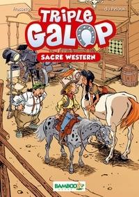 Christine Frasseto et Benoît Du Peloux - Triple Galop Bamboo Poche T4 - Sacré Western.