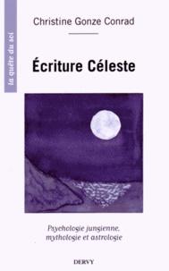 Christine Gonze-Conrad - Ecriture céleste - Psychologie jungienne, mythologie et astrologie.