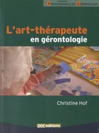 Christine Hof - L'art-thérapeute en gérontologie.