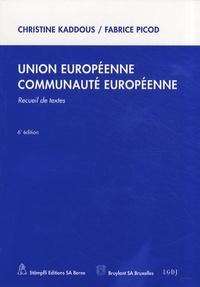 Union européenne, Communauté européenne - Recueil de textes.pdf