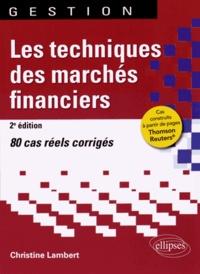 Les techniques des marchés financiers - 80 cas réels corrigés.pdf