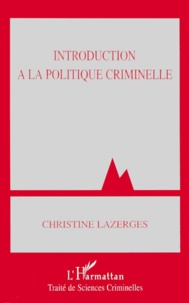 Christine Lazerges - .