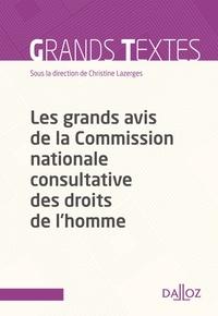 Les grands avis de la Commission nationale consultative des droits de lhomme.pdf