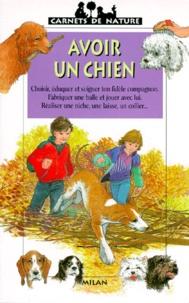 Christine Lazier - Avoir un chien.