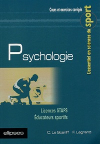 Christine Le Scanff et Fabien Legrand - Psychologie.