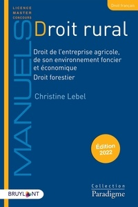 Christine Lebel - Droit rural.