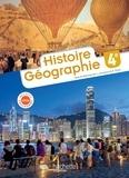 Christine Lécureux et Alain Prost - Histoire Géographie 4e.