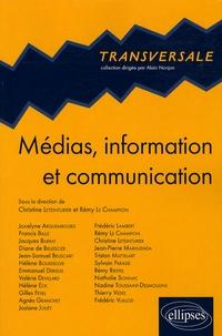 Christine Leteinturier et Rémy Le Champion - Médias, information et communication.