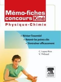 Christine Lopez-Rios et Vincent Thibaud - Concours Kiné Physique-chimie.