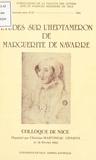 Christine Martineau-Génieys et  Collectif - Etudes sur l'Heptaméron de Marguerite de Navarre.