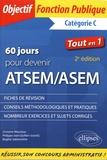 Christine Mauneau et Philippe-Jean Quillien - 60 jours pour devenir ATSEM/ASEM - Catégorie C.