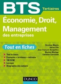 Christine Maurin et Adrien Vila - Economie, Droit, Management des entreprises - BTS Tertiaires.