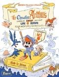 Christine Naumann-Villemin et  Miss Paty - Le chevalier Arthus cherche enfant sachant lire et écrire pour aventures fantastiques.