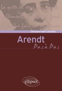Christine Noël-Lemaitre - Arendt.