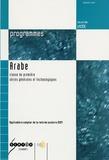 Christine Nottrelet - Arabe 1e Séries générales et technologiques - Programmes.