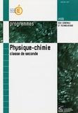 Christine Nottrelet et Christine Alabert - Physique-chimie 2e - Programmes.