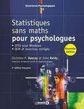 Christine P. Dancey et John Reidy - Statistiques sans maths pour psychologues - SPSS pour Windows, QCM et exercices corrigés.