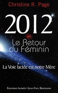 Christine Page et Anne Ferlat - 2012 Le retour du féminin.