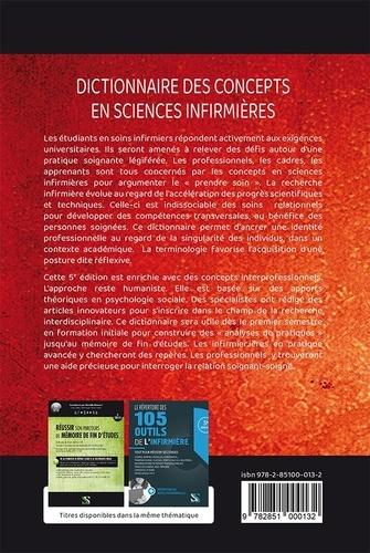 Dictionnaire des concepts en sciences infirmières. Vocabulaire professionnel de la relation soignant-soigné 5e édition