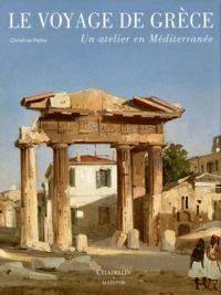 Christine Peltre - Le voyage de Grèce - Un atelier en méditerranée.