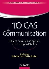 10 cas de communication - Etudes de cas dentreprises avec corrigés détaillés.pdf
