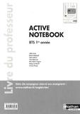 Christine Pilorget - Anglais BTS 1re année Active Notebook - Livre du professeur.