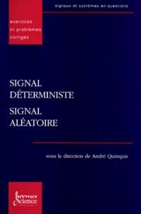 SIGNAL DETERMINISTE, SIGNAL ALEATOIRE. Execices et problèmes corrigés.pdf