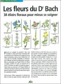 Christine Ponchon - Les fleurs du Dr Bach - 38 élixirs floraux mieux se soigner.