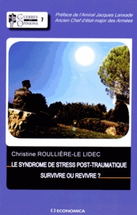 Accentsonline.fr Le syndrome de stress post-traumatique - Survivre ou revivre ? Image