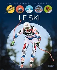 Christine Sagnier - Le ski.