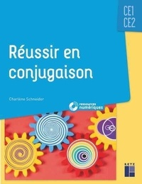 Christine Schneider - Réussir en conjugaison CE1-CE2. 1 DVD-Rom