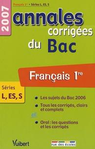 Christine Seutin et Jacqueline Zorlu - Français Séries L-ES-S - Annales corrigées du Bac.