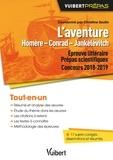 Christine Seutin et Eddy Hanquier - L'aventure Homère - Conrad - Jankélévitch - Concours 2018-2019.