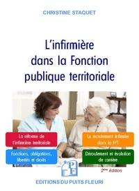Christine Staquet - L'infirmière dans la Fonction publique territoriale.