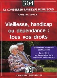 Christine Staquet - Vieillesse, handicap ou dépendance : tous vos droits.