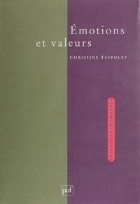 Christine Tappolet - Emotions et valeurs.